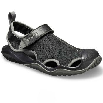 Crocs Mens Swiftwater Mesh Deck Sandal